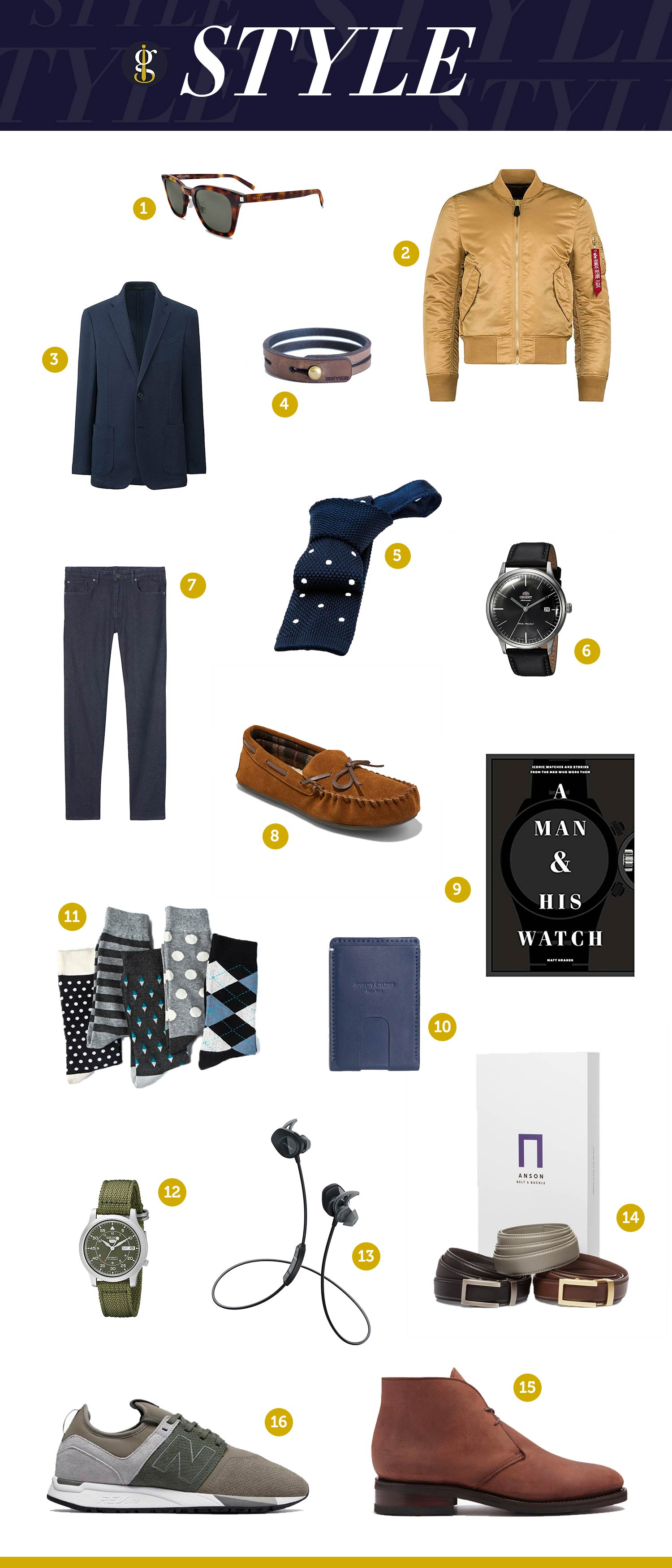 Holiday Gift Guide Style 2017 | GENTLEMAN WITHIN