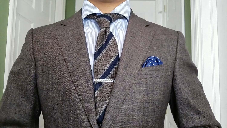 Look 1: Suit & Woolen Tie   GENTLEMAN WITHIN