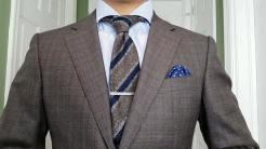 Look 1: Suit & Woolen Tie | GENTLEMAN WITHIN