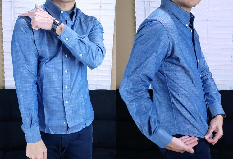 MTailor Shirt Fit 1   GENTLEMAN WITHIN