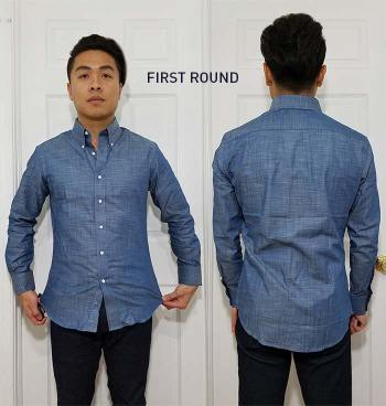 First Shirt From MTailor | GENTLEMAN WITHIN