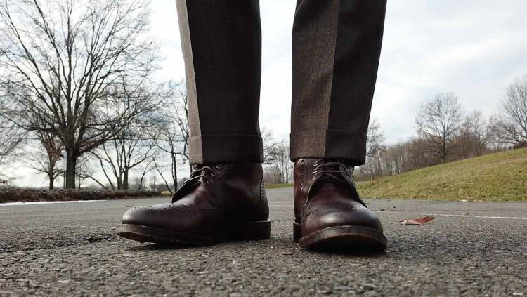 Look 2: Allen Edmonds Dalton Boots