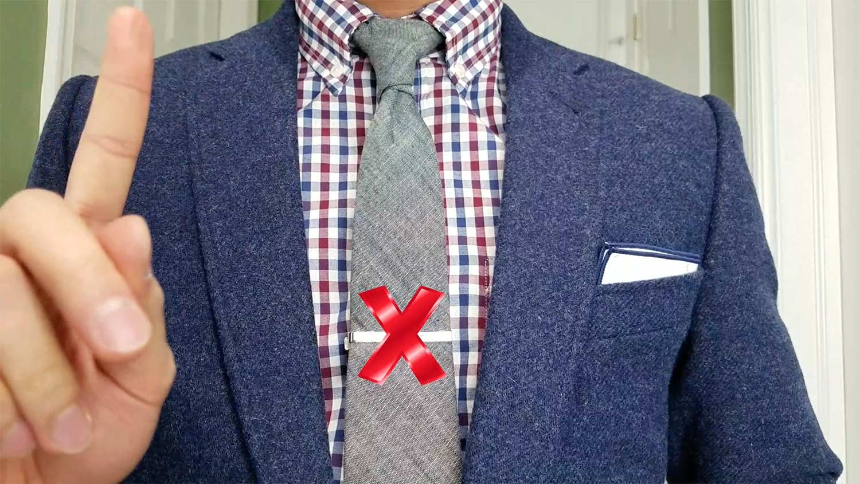 Tie Bar Rule 6: Watch The Length | GENTLEMAN WITHIN