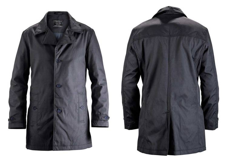 Waterford Navy Car Coat | GENTLEMAN WITHIN
