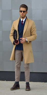 Camel Overcoat Look 1
