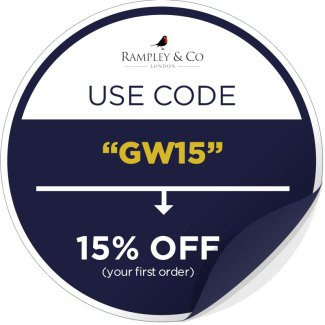 Rampley & Co Discount Sticker   GENTLEMAN WITHIN