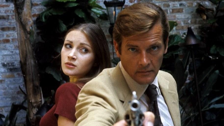 Roger Moore in James Bond