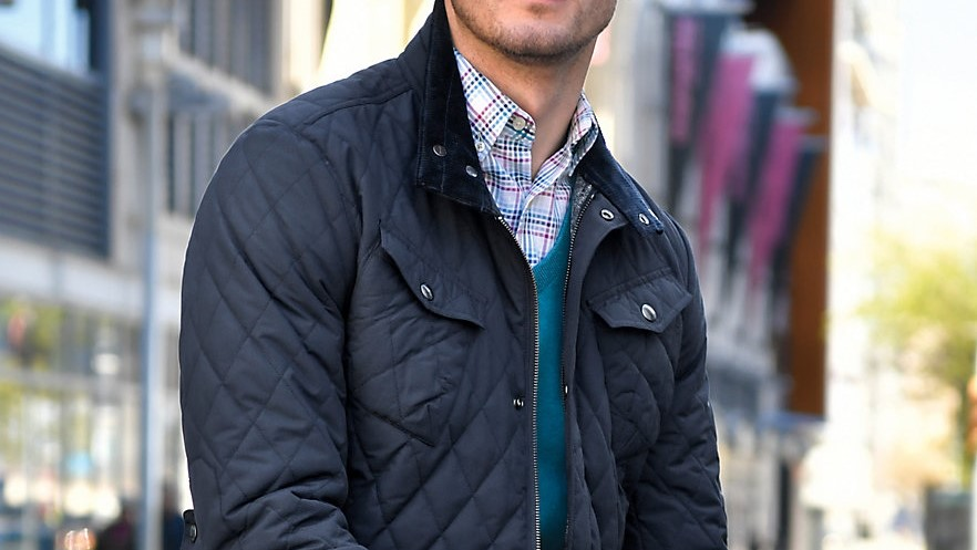 Quilted jacket by GANT