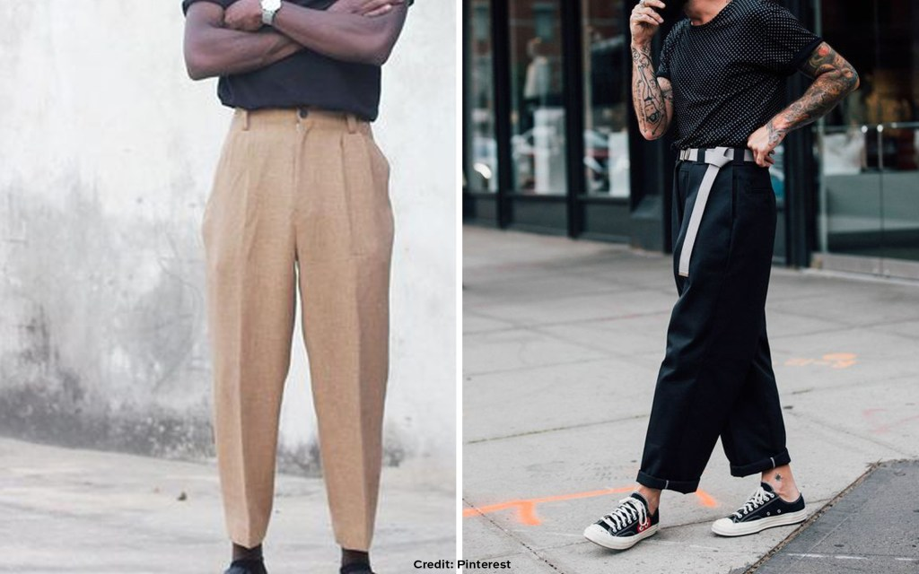 Ill fitting relaxed pants