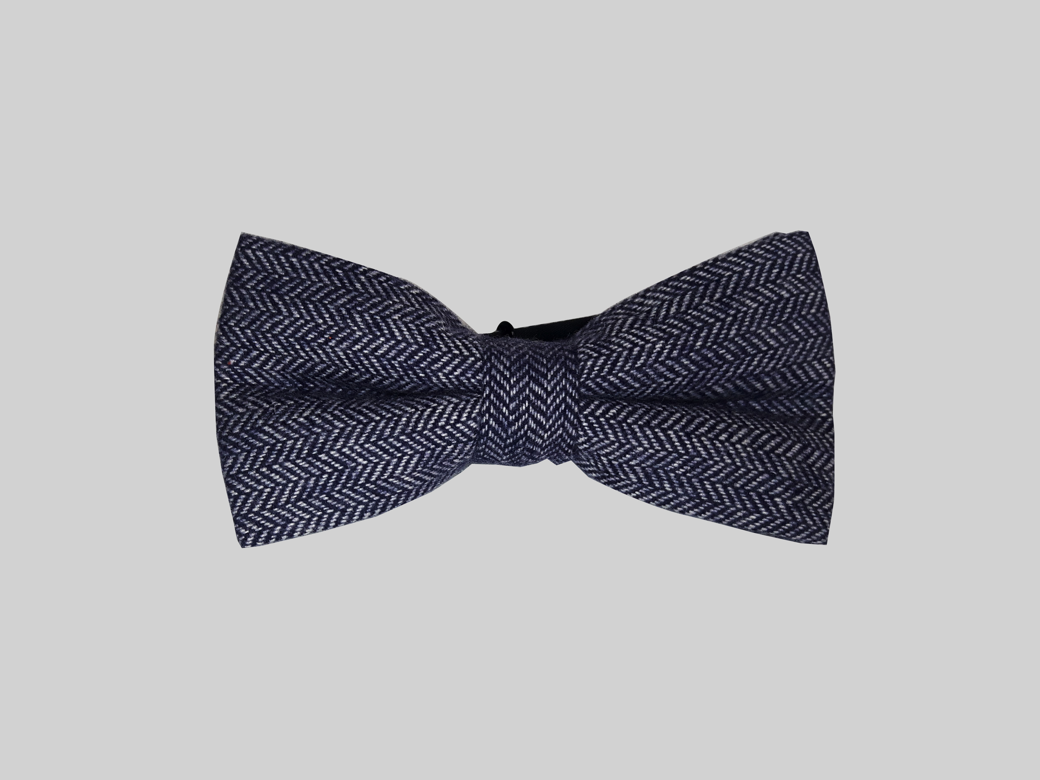 A wool bowtie by Edisons Bowtie