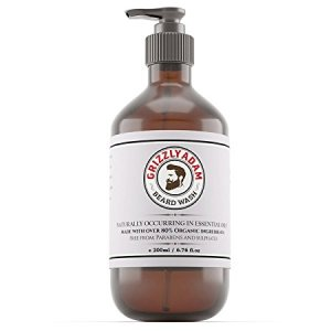 GRIZZLY ADAM Beard Wash for men.