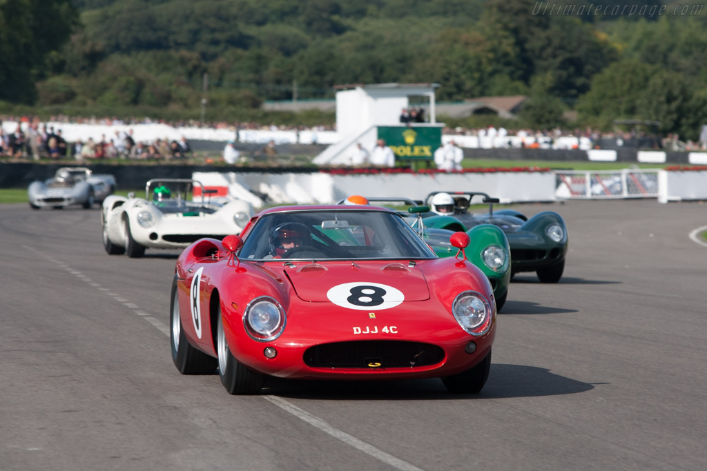Front view of the Ferrari 250 LM