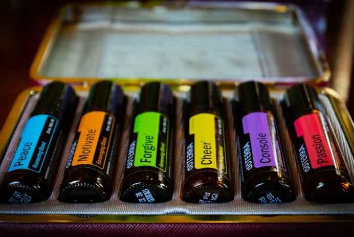 Essential oils kit for men