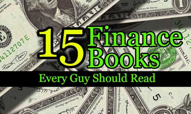 15 Finance Books Every Guy Should Read