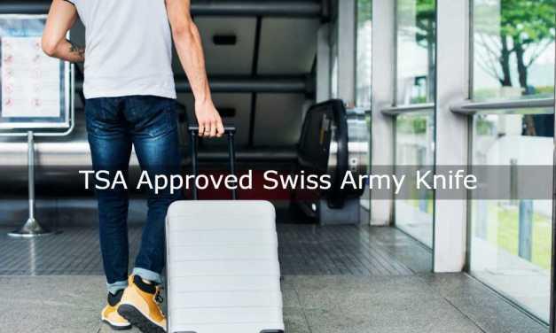 TSA Approved Swiss Army Knife