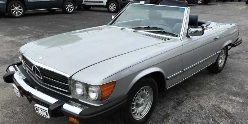 Preppy Midlife Crisis Cars - Mercedes 380SL