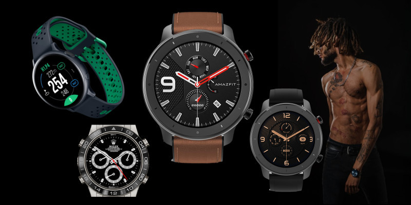 Stylish Fitness Watches for Men