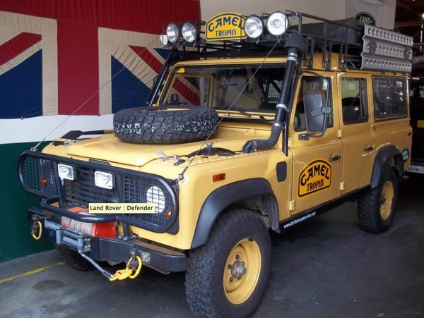 Camel Trophy Land Rover Defender 110 200tdi  Gentlemint