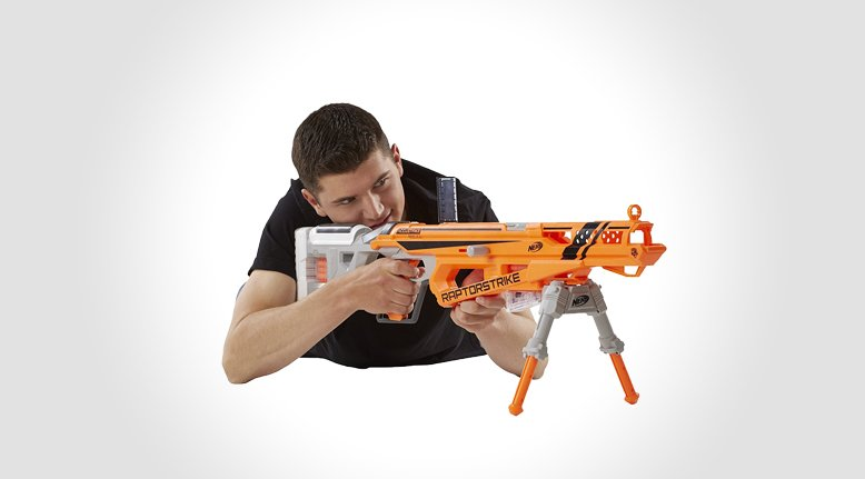 Nerf Raptorstrike Sniper Rifle Gentlemint Reserve