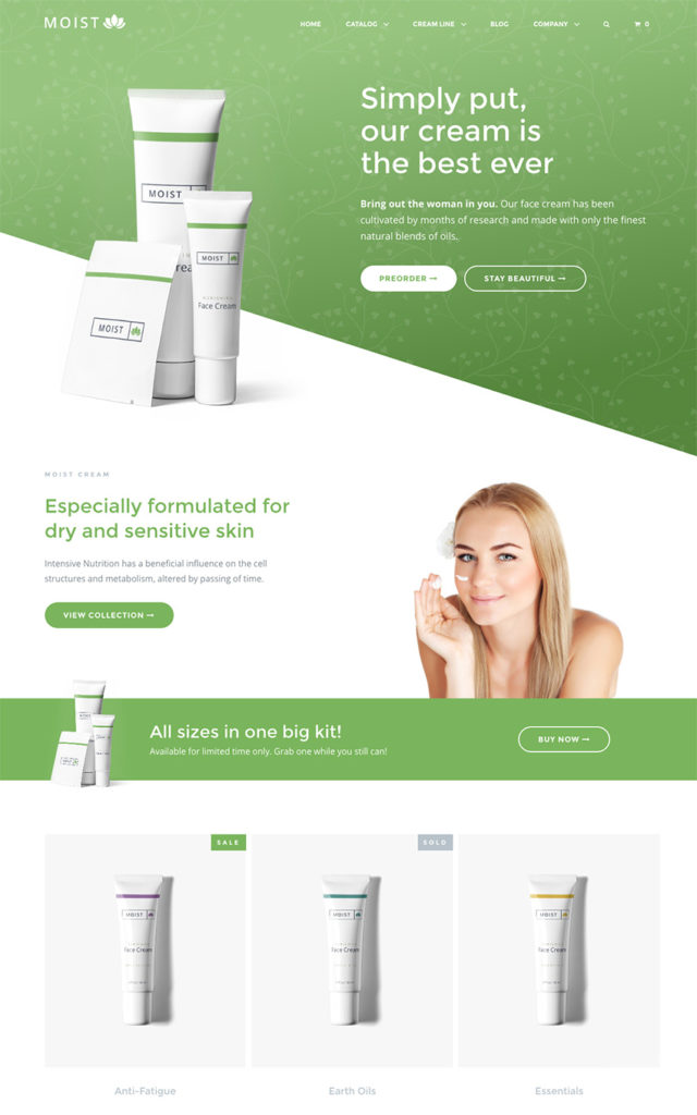 Single Product Website Template from i0.wp.com
