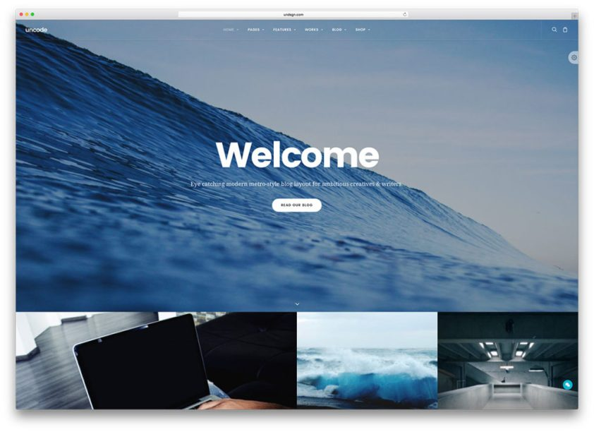 Bootstrap single product eCommerce website templates