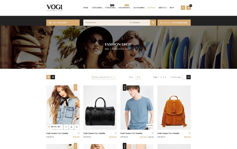 Multi vendor ecommerce templates
