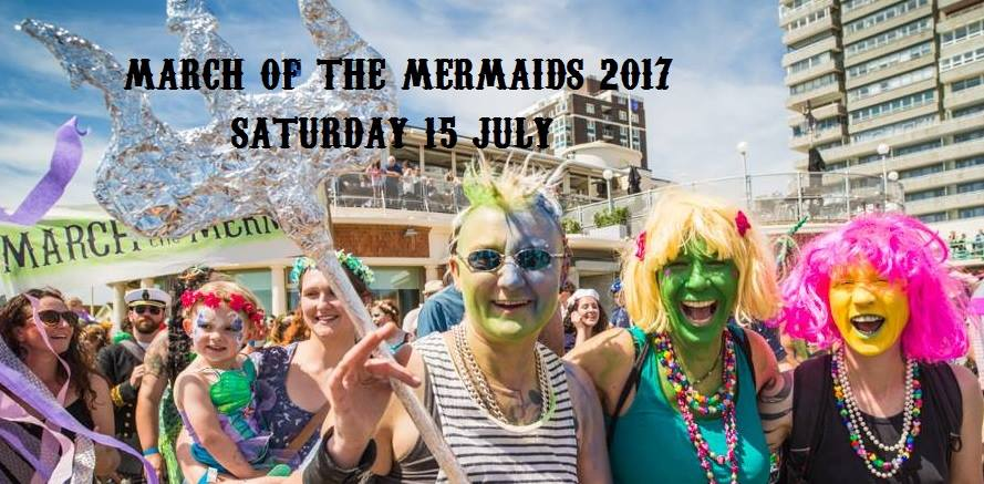 BRIGHTON BUZZ March of the Mermaids