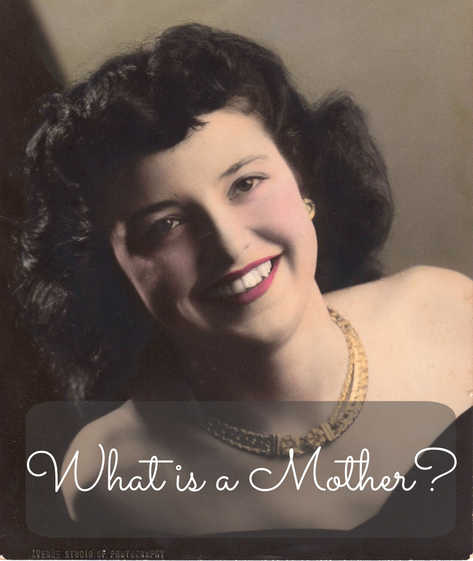 What Is A Mother In Remembrance Of Maryann Mather 1929 2015