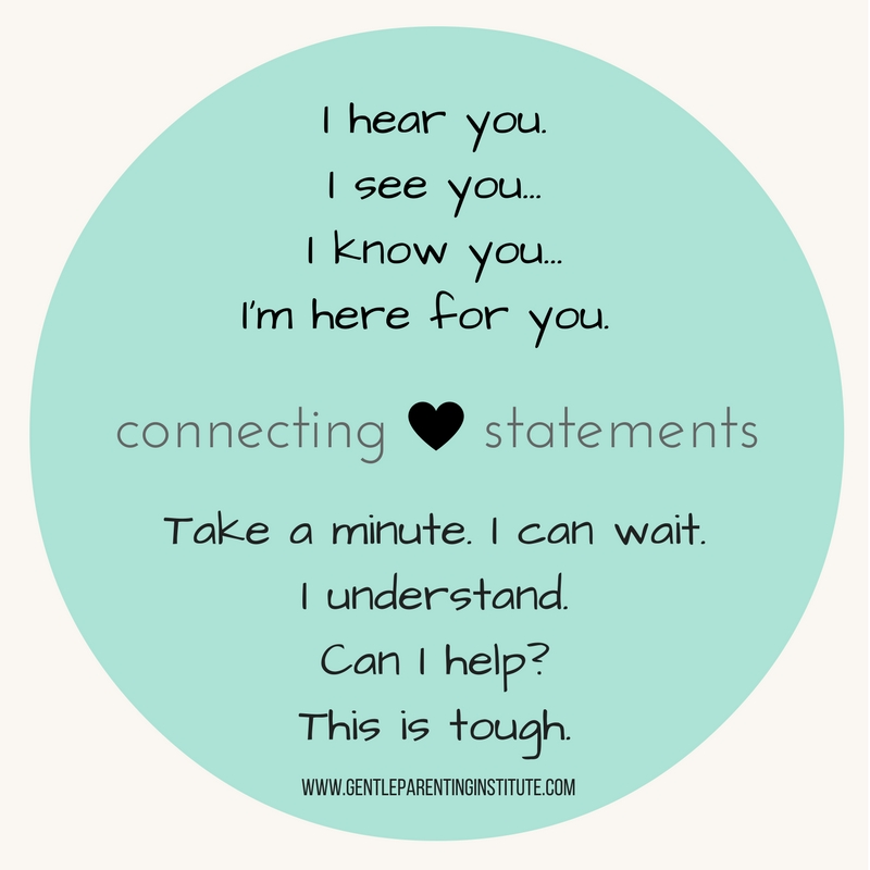 Connection is KEY (also...free printable!)