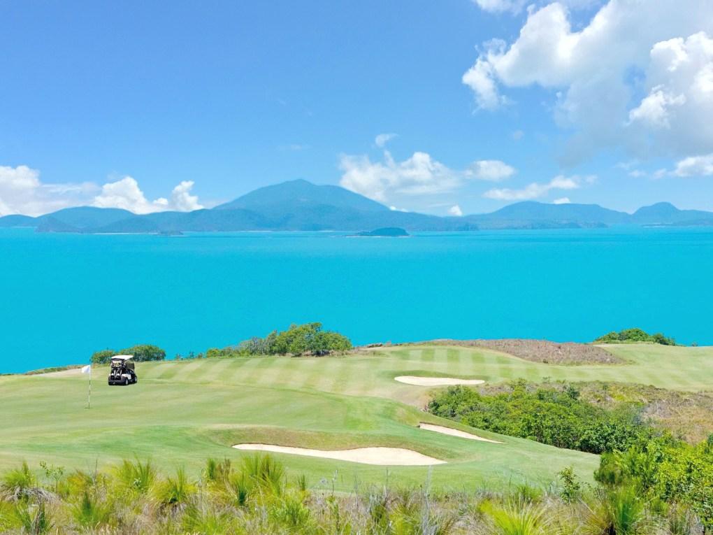Dent Island golf course. A must!