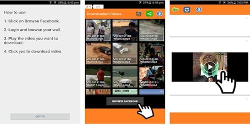 Aplikasi Download Video Facebook