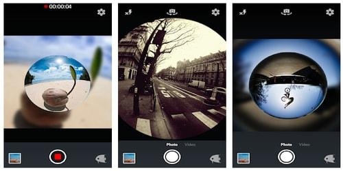 Aplikasi Kamera Cembung