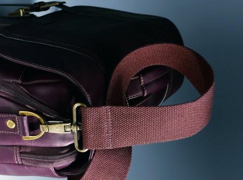 samsonite leather