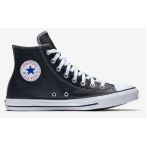 Converse Chuck Taylor All Star Hi Top Leather- Ox Black