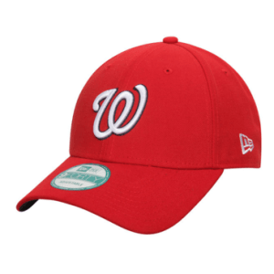 Washington Nationals New Era Red League 9FORTY Adjustable Hat