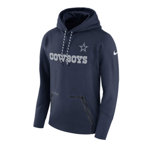 big sale 7ffe4 0b0c2 Nike | Dallas Cowboys | Sideline | Performance | Hoodie | Navy
