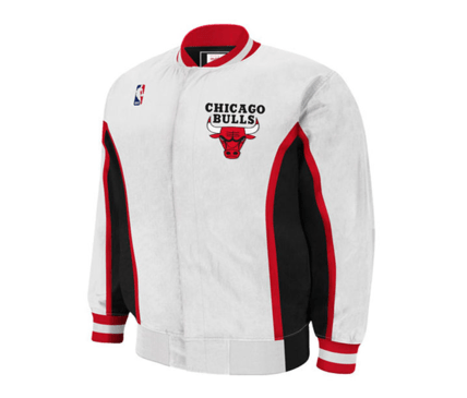 new product a15c6 1df51 Mitchell & Ness | Chicago Bulls | Hardwood Classics Vintage | Warm-Up  Jacket | White | Gent's & G's