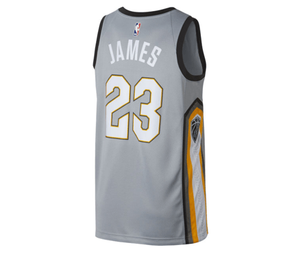 check out 2a475 1880f Nike | Cleveland Cavaliers | LeBron James | Swingman Jersey | Silver