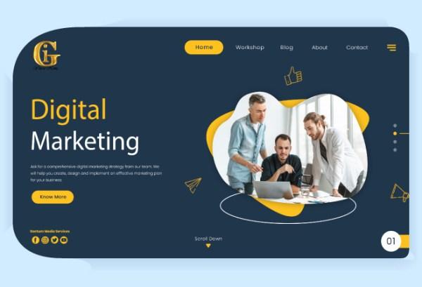 Digital Marketing by Gentum Media Services