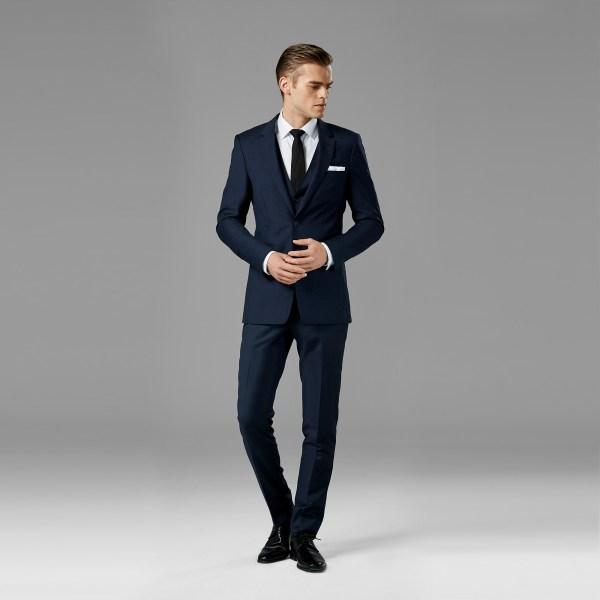 Navy Blue Suit Rental  Navy Wedding Suit  Generation Tux
