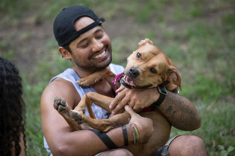 aspca man and dog
