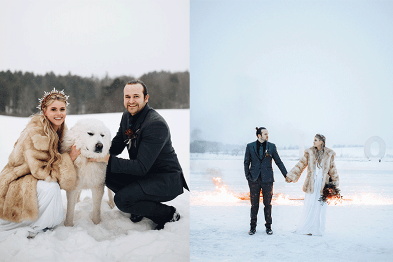 game of thrones wedding styled shoot