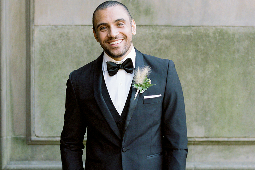 young groom in generation tux tuxedo
