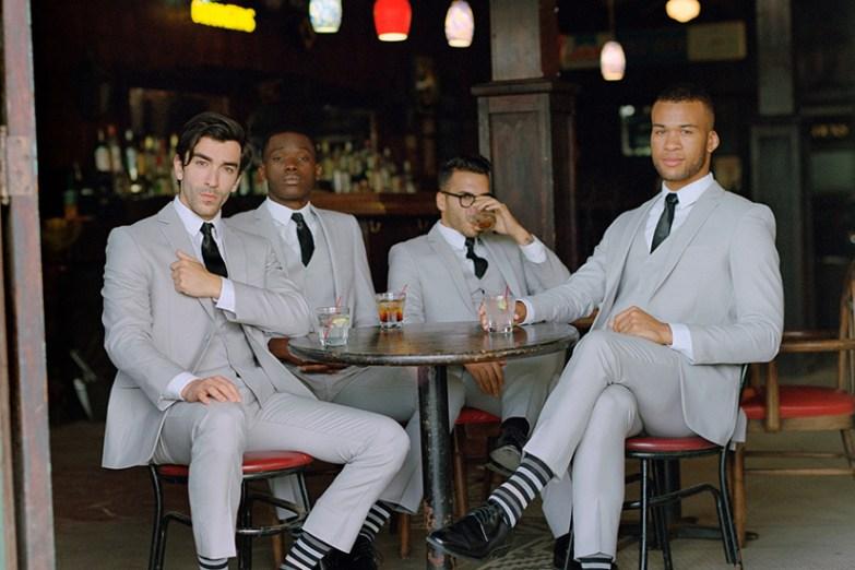 men in generation tux grey suit