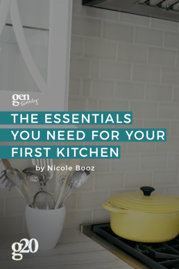 Kitchen Essentials: What You Need and What You Don't For Your First Home