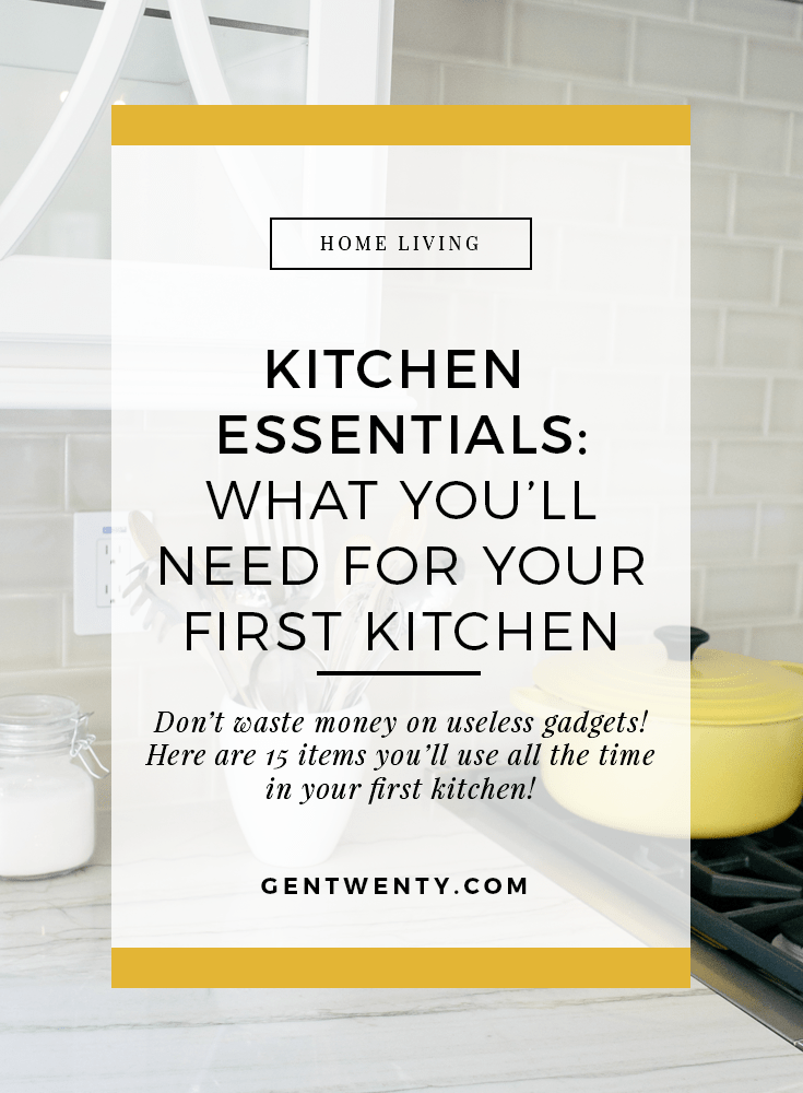 Moving out on your own? Here are the tools you need to stock your first kitchen