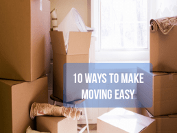 10 Tips to Make Moving Easier