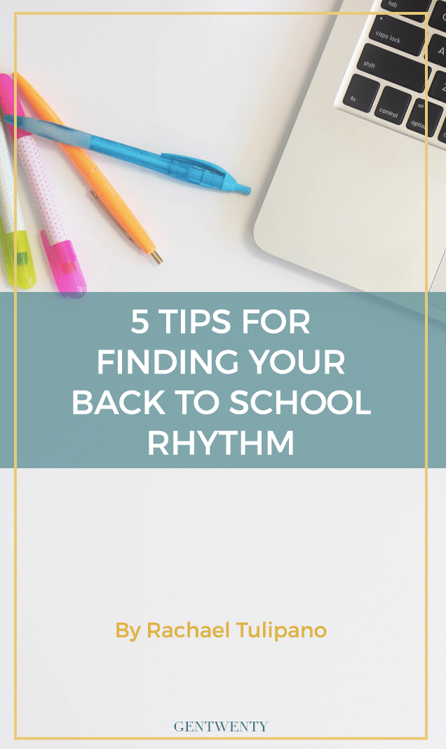 It's time to head back to school, but wait - are you ready to get back into your academic rhythm again? Click through for 5 tips to make this semester your best one yet.