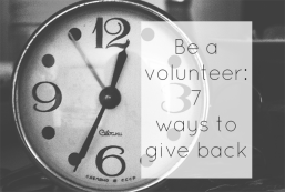 Let's volunteer: 7 ways to give back this May