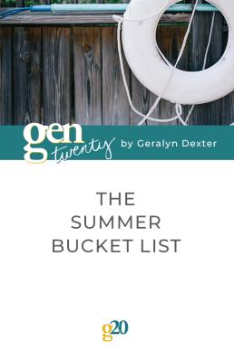 The Summer Bucket List